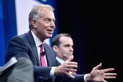 Former British Prime Minister Tony Blair speaks onstage during 2016 Milken Institute Global Conference at The Beverly Hilton on May 03, 2016 in Beverly Hills, California.
