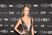 Miss USA 2015 Olivia Jordan attends the 2016 Miss USA pageant at T-Mobile Arena on June 5, 2016 in Las Vegas, Nevada.