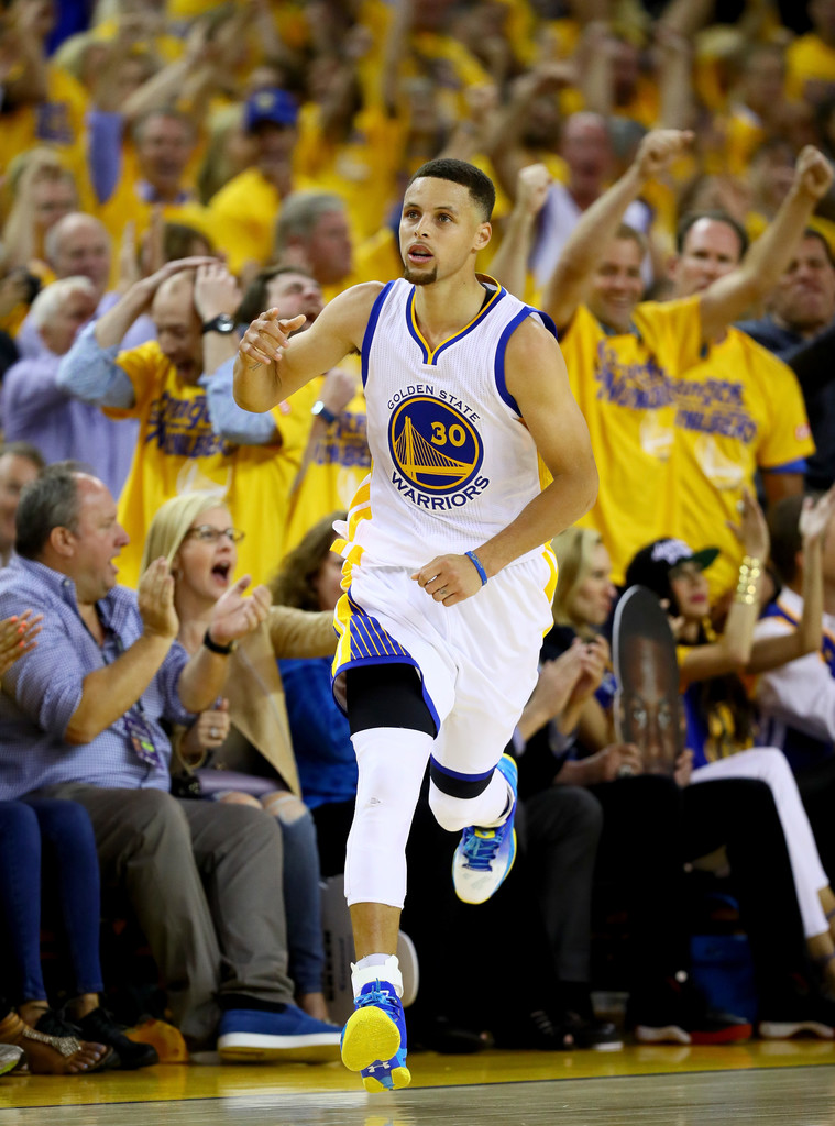 Stephen Curry Photos Photos - 2016 NBA Finals - Game Five ...