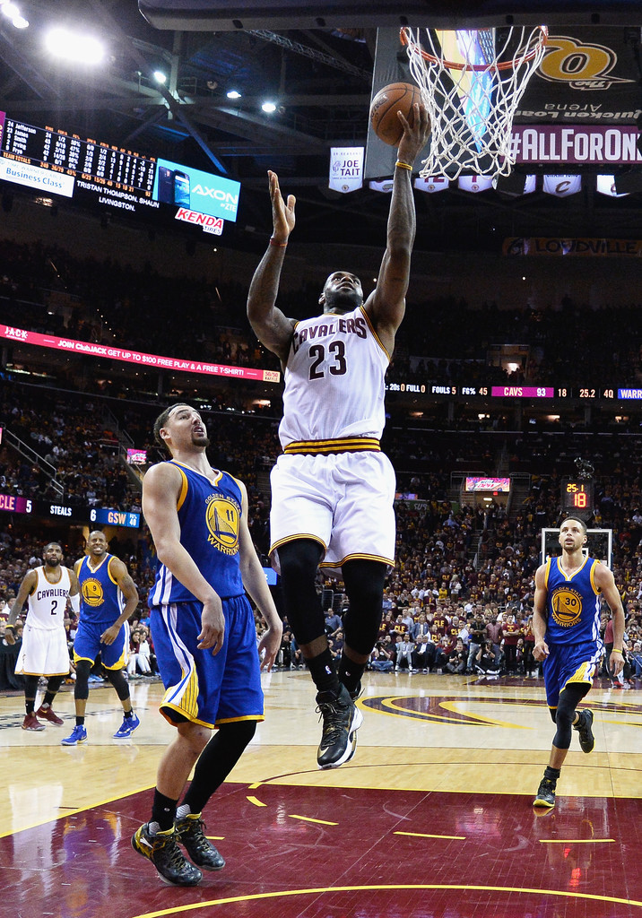 LeBron James Photos Photos - 2016 NBA Finals - Game Four ...