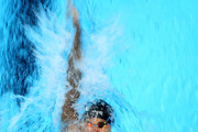 Matt Grevers competes in a heat for the Men's 200 Meter Backstroke during Day Five of the 2016 U.S. Olympic Team Swimming Trials at CenturyLink Center on June 30, 2016 in Omaha, Nebraska.
