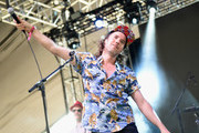 Kevin Drew of Broken Social Scene performs onstage at the 2016 Panorama NYC Festival - Day 1 at Randall's Island on July 22, 2016 in New York City.