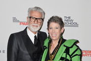 Photographer Firooz Zahedi and honoree Beth Rudin DeWoody attend the 2016 Parsons Benefit at Chelsea Piers on May 23, 2016 in New York City.