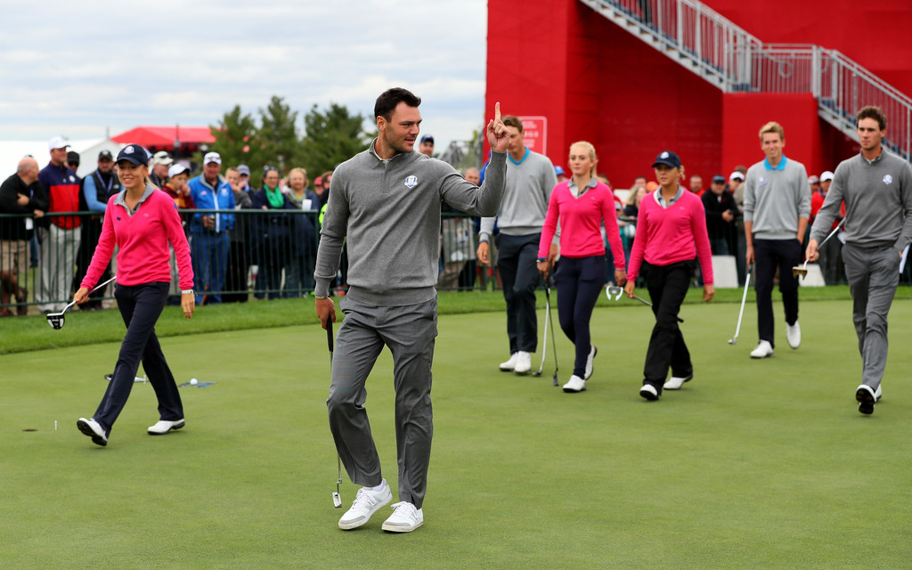 martin kaymer photos photos 2016 ryder cup previews zimbio. Black Bedroom Furniture Sets. Home Design Ideas