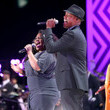 Javier Colon and Amber Riley Photos