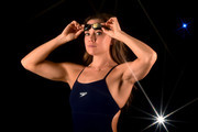 A special effects camera filter was used for this image.).  Swimmer Natalie Coughlin poses for a portrait at the 2016 Team USA Media Summit at The Beverly Hilton Hotel on March 7, 2016 in Beverly Hills, California.