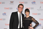 John Green and  Sarah Green attend 2016 Time 100 Gala, Time's Most Influential People In The World at Jazz At Lincoln Center at the Times Warner Center on April 26, 2016 in New York City.
