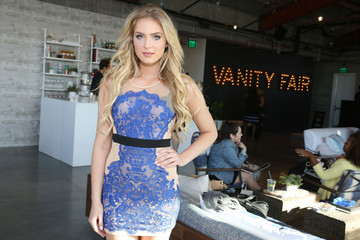Saxon Sharbino 2016 Vanity Fair Social Club for Oscar Week