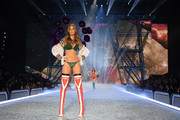Josephine Skriver walks the runway during the 2016 Victoria's Secret Fashion Show on November 30, 2016 in Paris, France.