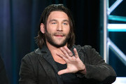 Actor Zach McGowan speaks onstage during the Black Sails panel as part of the Starz portion of This is Cable 2016 Television Critics Association Winter Tour at Langham Hotel on January 8, 2016 in Pasadena, California.
