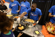 Oklahoma City Thunder Raymond Felton along with players, coaches and staff hosts it's 10th annual Holiday Assist event for 80 children from the Norman Boys and Girls Club on November 18, 2017 in Oklahoma City, Oklahoma. NOTE TO USER: User expressly acknowledges and agrees that, by downloading and or using this Photograph, user is consenting to the terms and conditions of the Getty Images License Agreement. Mandatory Copyright Notice: Copyright 2017 NBAE