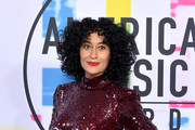 Tracee Ellis Ross attends the 2017 American Music Awards at Microsoft Theater on November 19, 2017 in Los Angeles, California.