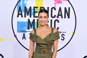 Renee Bargh attends the 2017 American Music Awards at Microsoft Theater on November 19, 2017 in Los Angeles, California.