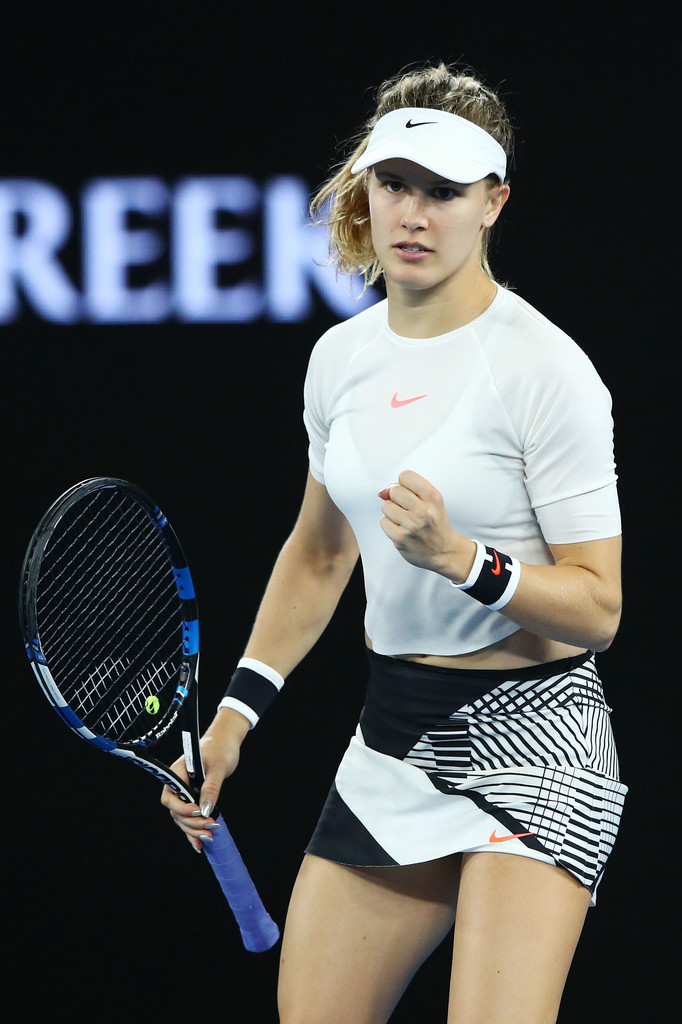 eugenie bouchard photos photos 2017 australian open
