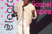 Lecrae accepts the Dr. Bobby Jones Best Gospel/Inspirational Award for 'Can't Stop Me Now (Destination)' onstage at 2017 BET Awards at Microsoft Theater on June 25, 2017 in Los Angeles, California.