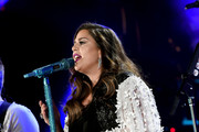 (EDITORIAL USE ONLY) Hillary Scott of Lady Antebellum performs onstage during day 3 of the 2017 CMA Music Festival on June 10, 2017 in Nashville, Tennessee.