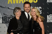 Cynthia Puskar, Charles Esten and Patty Hanson attend the 2017 CMT Music awards at the Music City Center on June 7, 2017 in Nashville, Tennessee.