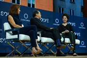 (L-R) Anchor Stephanie Ruhle, MSNBC, Cellist Yo-Yo Ma, Curator of the MIT Solve Arts and Culture Mentorship Prize, and Dr. Neri Oxman, Associate Professor of Media Arts and Sciences, MIT, speak at The 2017 Concordia Annual Summit at Grand Hyatt New York on September 18, 2017 in New York City.