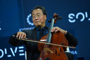 Cellist Yo-Yo Ma, Curator of the MIT Solve Arts and.Culture Mentorship Prize, performs onstage during The 2017 Concordia Annual Summit at Grand Hyatt New York on September 18, 2017 in New York City.