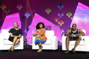(L-R)  Lynn Whitfield, Yara Shahidi and John Singleton speak onstage at the 2017 ESSENCE Festival presented by Coca-Cola at Ernest N. Morial Convention Center on July 1, 2017 in New Orleans, Louisiana.