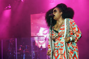 Singer Jill Scott performs onstage at the 2017 ESSENCE Festival Presented By Coca Cola at the Mercedes-Benz Superdome on July 1, 2017 in New Orleans, Louisiana.