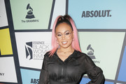 Recording artist Cymphonique Miller attends 2017 Essence Black Women in Music at NeueHouse Hollywood on February 9, 2017 in Los Angeles, California.
