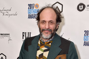 Director Luca Guadagnino poses with the Best Feature Film award during The 2017 IFP Gotham Independent Film Awards co-sponsored by FIJI Water at Cipriani Wall Street on November 27, 2017 in New York City.