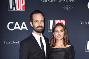 Choreographer Benjamin Millepied and actress Natalie Portman attend the 2017 Los Angeles Dance Project Gala on October 7, 2017 in Los Angeles, California.