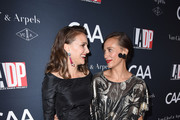 Actresses Natalie Portman and Rashida Jones attend the 2017 Los Angeles Dance Project Gala on October 7, 2017 in Los Angeles, California.