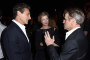 Lawrence Bender, Lisa Rinehart and Mikhail Baryshnikov attend the 2017 Los Angeles Dance Project Gala on October 7, 2017 in Los Angeles, California.