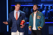 John Cena and Aaron Taylor-Johnson Photos - 1 of 21 Photo