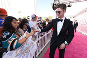 Sergei Bobrovsky of the Columbus Blue Jackets attends the 2017 NHL Awards at T-Mobile Arena on June 21, 2017 in Las Vegas, Nevada.