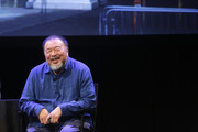Ai Weiwei attends The 2017 New Yorker Festival - Ai Weiwei Talks With The New Yorker's Evan Osnos on September 8, 2017 in New York City.