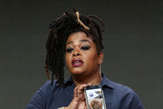 Actor Jill Scott of 'Flint' speaks onstage during the Lifetime portion of the 2017 Summer Television Critics Association Press Tour at The Beverly Hilton Hotell on July 28, 2017 in Beverly Hills, California.