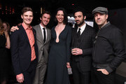 (L-R) David Joseph Craig, Dan Stevens, Rebecca Hall, Morgan Spector and Jason Sudeikis attend the After Party for Permission Sponsored by Heineken during 2017 Tribeca Film Festival at Up&Down on April 22, 2017 in New York City.