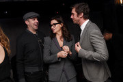 (L-R) Jason Sudeikis, Gina Gershon and Dan Stevens attend the After Party for Permission Sponsored by Heineken during 2017 Tribeca Film Festival at Up&Down on April 22, 2017 in New York City.
