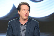 Creator/executive producer/actor Pete Holmes of the series 'Crashing' speaks onstage during the HBO portion of the 2017 Winter Television Critics Association Press Tour at the Langham Hotel on January 14, 2017 in Pasadena, California.