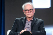 Executive producer/director Barry Levinson speaks onstage during the HBO portion of the 2017 Winter Television Critics Association Press Tour at the Langham Hotel on January 14, 2017 in Pasadena, California.