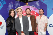 (L-R) Matthew Followill, Jared Followill, Caleb Followill, and Nathan Followill of music group Kings Of Leon attend the 2017 iHeartRadio Music Festival at T-Mobile Arena on September 23, 2017 in Las Vegas, Nevada.