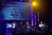 "(L-R) Songwriter/Producer Andrea Martin, Singer/Songwriters Prince Charlez, Amy Kuney, Leland and Cassadee Pope perform onstage at the '13th Annual Writers Jam' during The 2018 ASCAP ""I Create Music"" EXPO at Loews Hollywood Hotel on May 9, 2018 in Hollywood, California."