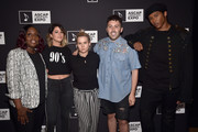 "(L-R) Songwriter/Producer Andrea Martin, Singer/Songwriters Cassadee Pope, Amy Kuney, Leland and Prince Charlez attend the '13th Annual Writers Jam' during The 2018 ASCAP ""I Create Music"" EXPO at Loews Hollywood Hotel on May 9, 2018 in Hollywood, California."