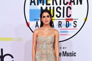 Laura Marano attends the 2018 American Music Awards at Microsoft Theater on October 9, 2018 in Los Angeles, California.