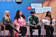 Bebe Rexha, Ella Mai, Kane Brown and Normani attend the 2018 American Music Awards Nominations Announcement at YouTube Space LA on September 12, 2018 in Los Angeles, California.