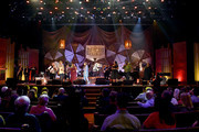 (L-R) Brandi Carlile, Irma Thomas, Courtney Marie Andrews, Tanya Blount and Michael Trotter Jr. of The War and Treaty and Ann McCrary of The McCrary Sisters perform onstage during the 2018 Americana Music Honors and Awards at Ryman Auditorium on September 12, 2018 in Nashville, Tennessee.