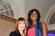 Valhalla Entertainment Film Producer Gale Anne Hurd and President LaRonda Sutton attends the '2018 Annual Women In Film & Television Gala' at 103 West on November 10, 2018 in Atlanta, Georgia.