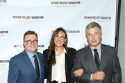 Nathan Lane, Rebecca Miller and Alec Baldwin attend the 2018 Arthur Miller Foundation Honors at City Winery on October 22, 2018 in New York City.