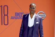 A.J. Calloway attends the 2018 BET Awards at Microsoft Theater on June 24, 2018 in Los Angeles, California.