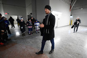 Marc Staal #18 of the New York Rangers arrives for the 2018 Bridgestone NHL Winter Classic between the New York Rangers and the Buffalo Sabres at Citi Field on January 1, 2018 in the Flushing neighborhood of the Queens borough of New York City.