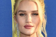 Rosie Huntington-Whiteley attends the 2018 CFDA Fashion Awards at Brooklyn Museum on June 4, 2018 in New York City.