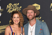 Alex White (L) and Drake White attend the 2018 CMT Music Awards at Bridgestone Arena on June 6, 2018 in Nashville, Tennessee.